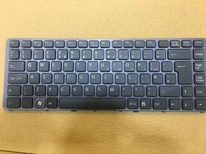 Nuevo teclado del Reino Unido Compatible / Reemplazo para Sony PCG-7183M, PCG-7184M, PCG-7185M, teclado PCG-7186M venta caliente