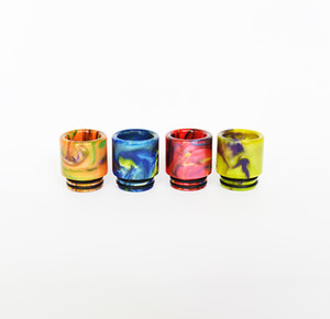810 510 Thread Epoxy Resin Wide Bore Drip Tip Mouthpiece Vape Drip Tips for TFV8 TFV12 Prince TFV8 Big Baby Atomizer 528