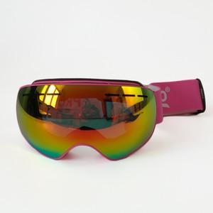 PROPRO العلامة التجارية للتزلج نظارات مزدوجة عدسة المضادة للضباب الكبار على الجليد التزلج على الجليد نظارات النساء الرجال الثلج نظارات، D-0117