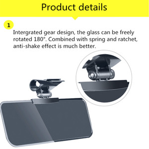 자동차 운전자 Anti-UV 차단기 주야간 안전 운전 Anti-Dazzle Sunshade Mirror Driver 눈부심이없는 고글 방패