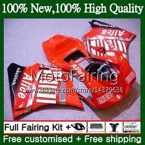 Body Red For DUCATI 748 853 916 94 95 96 97 98 99 00 01 02 18MF22 996 998 S 1994 1996 1998 1999 2000 2001 2002 Fairing Bodywork Red black