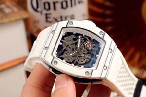 Relógios masculinos de qualidade militar. Estrutura de três peças. Os anéis superior e inferior são feitos de pellets de fibra de carbono NTPT e importados 316 stee