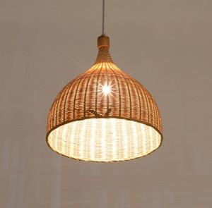 Trasporto gratuito New Chinese homestay Inn decorazione lampadario ristorante a tema creativo bambù lampade stile giapponese LLFA