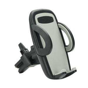 Universal Air Vent Car Mount for iPhone 7 Plus SE 6 Plus 5S for Samsung One Touch Release Button 360 Rotation