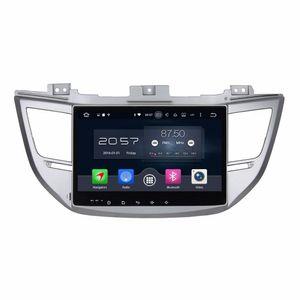 """4GB RAM Octa Core 10.1 """"Android 6.0 차량용 오디오 DVD 플레이어 차량용 DVD, 현대 IX35 용 Tucson 2015 2016, 무선 GPS WIFI Bluetooth TV USB"""