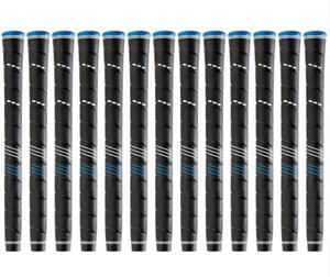 NOVO TPE Material Envoltório Padrão / Midsize Golf Grip Cap Azul 13 pçs / lote Golf Irons e Woords Apertos Frete Grátis