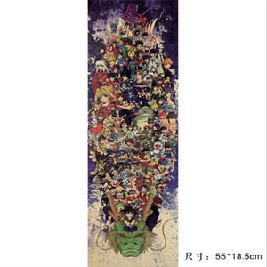 Vida / Totoro NARUTO / SET / papel kraft / bar Poster / adesivos de parede / Poster Retro / decorativo 55x18.5cm pintura