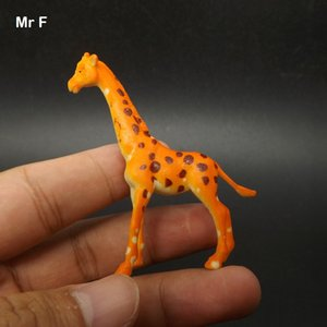 Science Discovery Education Prop Small Wildlife Model Simulation Children Toy Giraffe Simulation Cognitive Learning Training Toy