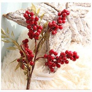 1 ADET mini Kırmızı dut stamens yapay çiçekler düğün ev dekorasyon DIY çelenk Scrapbooking Sahte çiçekler dekorasyon