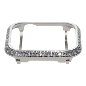 3.0mm большой побрякушки ювелирные изделия кристалл алмаза дело ободок Защитная крышка Замена для яблочного часы серии 4 серии 5 40мм 44мм