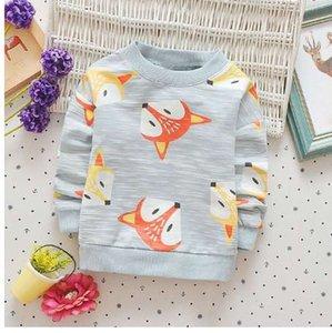 Babyinstar Neue Herbstkinder kleiden Baby Jungen Hoodies Sweatshirts Baby Mädchen Kleidung Tops