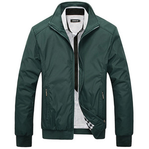 Jacket Designer Femininos Primavera Outono Overcoat Middle Aged Men Fashion Business gola de Slim Casual Estilo businese Jackets Men M-5XL