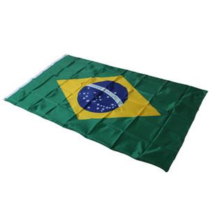 3ftx5ft Bandeira Do Brasil, 150x90 cm Bandeira do Brasil, Bandeira Brasileira Bandeiras Nacionais Interior / Exterior Brasil BANDEIRA Pendurado Decoração de Casa