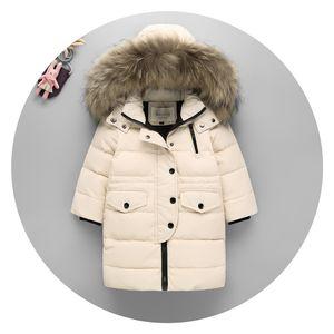 Kleidung des neuen Jahres weiße Ente Daunenjacke dünne Daunenjacke Mädchen Teenager Daunenjacke Kinder Winterfüllung