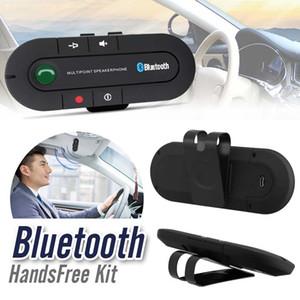 بلوتوث سيارة كيت مكبر الصوت MP3 مشغل موسيقى لاسلكي بلوتوث الارسال يدوي سيارة كيت بلوتوث استقبال المتكلم شاحن سيارة