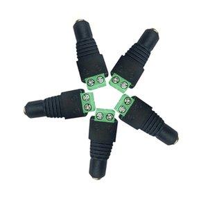 Женский DC Кабель Питания Разъем Адаптера Разъем для 5050 2835 LED Strip Rope Neon CCTV Камеры Использовать 12 В 24 В