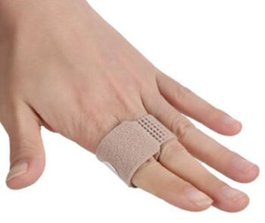 Fabric Toe Finger Supports Straightener Hammer Toe Hallux Valgus Corrector Bandage Toe Separator Splint Wraps