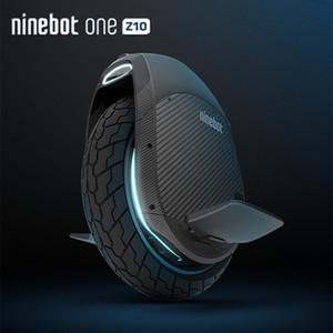 원래 Ninebot 한 Z10 Z6 자기 균형 휠 스쿠터 전기 외발 자전거 1800W 모터 속도 45kmh 핸들 호버 보드 Z Z6 빌드 -