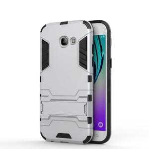 "Para Samsung Galaxy A5 2017 Case versión EE. UU. Armor Case Cubierta trasera del teléfono de goma de silicona para Samsung A5 2017 a520 a520F 5.2 """