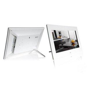 دعم 16GB SD بطاقات 10inch HD 16: 9 صورة الألبوم إطار الصورة الرقمية مع MP4 فيلم لاعب وظيفة المدمج في مكبرات الصوت #
