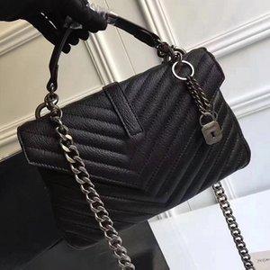 Ücretsiz Kargo 25 CM Moda Marka tasarım Deri Çanta kadın çanta omuz çantaları için kadın sıcak satış için