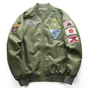 Masculino Força Aérea Jaqueta de Vôo Dos Homens Plus Size 6XL Militar jaqueta tático casaco masculino Piloto Bomber Jacket chaquetas hombre para Homens