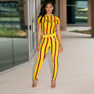 Stripe casual women jumpsuit romper Printing Elastic two piece suit jumpsuit romper High waist fitness playsuit 2018
