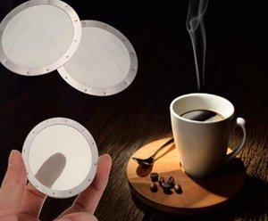 Sólida Reutilizável de Aço Inoxidável Lavável Malha Café Filtro de Tela Para Aeropress Cafeteira Filtro Filtros Reutilizáveis