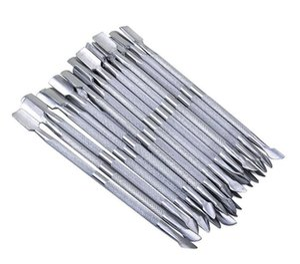 2 en 1 herramientas de Nail Art Acero inoxidable Esencial Cutícula 2 Vías Cuchara Pusher Manicure Cuticle Pushers 500 unids