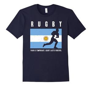 Argentina Rugby - Argentina Rugby Glória Dura Para Sempre Tshirt Moda Masculina E Mulher Camiseta Frete Grátis de Manga Curta