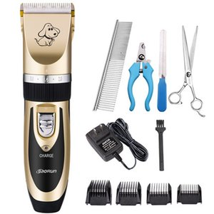 Grooming Kit Rechargeable Pet Hair Trimmer Cat Dog Electrical Clipper Shaver Set Haircut Machine Professional Shaving