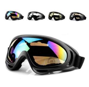 X400 Bisiklet Gözlük CS Rüzgar Geçirmez Gözlük Spor Cam Yürüyüş KAYAK Güneş Gözlüğü Motosiklet Sunglass Yansıtıcı patlamaya dayanıklı Gözlük Gözlük