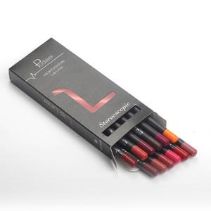 12Pcs Pudaier Lip Liner Pencil Waterproof Lipliner Contour Cosmetics  Lip Liner Set Lip Pencil Matte  Tools 05