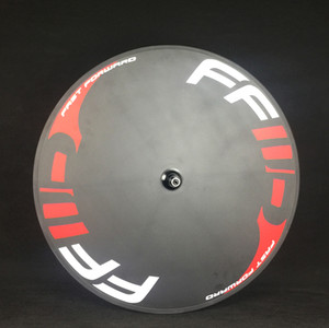 Tam Disk Tekerlekler FFWD Karbon Yol Disk Tekerlek 700c Kattığı / Tübüler Bisiklet Tekerlek Parça Bisiklet Ve Yol Bisiklet Için