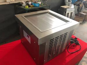 Бесплатная доставка до двери 35*35 см Пан мини столешница жарить мороженое ролл машина столешница Жареное мороженое машина настольный рулон мороженое машина
