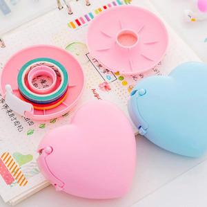 tape dispenser cute candy small washi tape cutter storage organizer tape machine stationery school office supplies