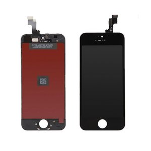 Tela de toque + display LCD retina quadro para apple iphone 5s vidro branco tela entregar as mercadorias dentro de 24 horas