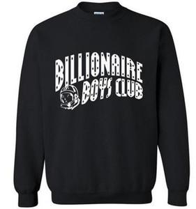 Wholesale-2018 hombres musculosos chicos multimillonarios del otoño invierno del club de alta calidad de la camiseta de la marca de lana chándal con capucha divertidas de hip hop de moda