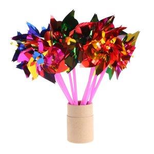 الأولاد الجدة لعبة البلاستيك طاحونة pinwheel الذاتي التجمع زهرة الرياح الاطفال سبينر الفتيات الطفل هدية ملونة لعبة لون عشوائي oeirv