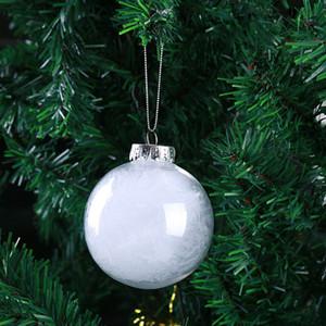 Palline di Natale Decorazione Palline di nozze Ornamenti per feste Albero di Natale Ciondolo Balls 6cm 8cm 10cm WX9-1043