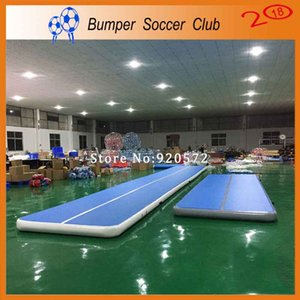Free Shipping 9x2x0.2m Inflatable Air Gym Track Tumbling Mat, DWF Material Air Track Inflatable Airtrack
