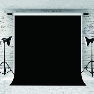 Sonho 5x7ft / 150x220cm Pure Backdrops preto Retrato para o fundo do fotógrafo Fotografia Prop Adultos Photo Studio Backdrops