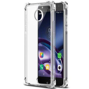 1 Pcs Coussin D'air Cristal Clair Protection Totale TPU Cas de Téléphone Pour Motorola Moto X4 G4 G5 G5S G6 C E4 Plus Z Z2 Z3 Force de Jeu