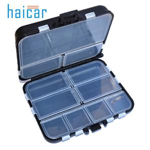 Caja de engranajes de pesca Haicar 11 Grid Cebo de cebo de cebo Caja de almacenamiento Organizador de gancho u70601 DROP SHIP