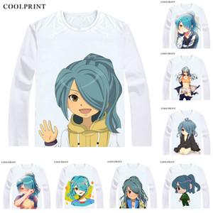 Coolprint Kazemaru Ichirouta Футболка Inazuma Eleven Мужская футболка Nathan Swift Повседневная футболка с принтом с длинным рукавом