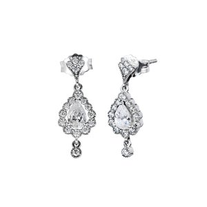 Совместим с Pandora серьги стерлингового серебра 925 пробы геральдическое сияние серьги для женщин европейский стиль ювелирные изделия оригинальный шарм