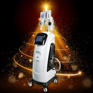 Troisième génération !! Cryolipolysis multifonction 4 en 1 Double poignée cryothérapie Ultrason Fat Gel Minceur machine
