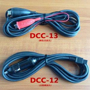 Оригинал FSM-60S FSM-62S FSM-80S FSM-50S FSM-18S FSM-70S Fusion Splicer 12V DC Автомобильный зарядный кабель DCC-12 + DCC-13