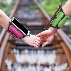 27hm Outdoor Portable Phone Holder ruotabile cinturino dell'orologio sweatproof braccio regolabile uomo borsa donne Smartphone Sport Borse Wristband di alta qualità
