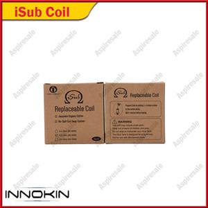 Innokin iTaste iSub Sub Bobine 0.2ohm 0.5ohm 1.0ohm 2.0ohm Bobines de rechange pour les réservoirs iSub 100% d'origine